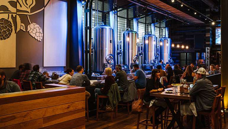 New Realm Brewing Pours Pints, Serves Up New American Cuisine