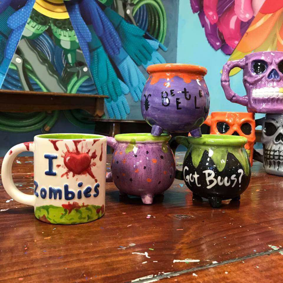 Spooky Pottery