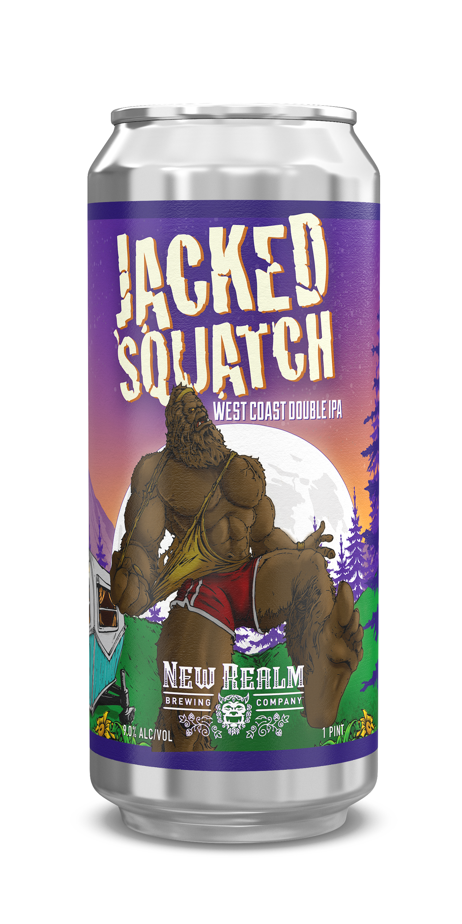 NRBC Jacked 'Squatch 2020 16oz Can OUTSHINERY