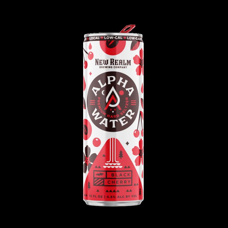 Black Cherry AlphaWater Hard Seltzer