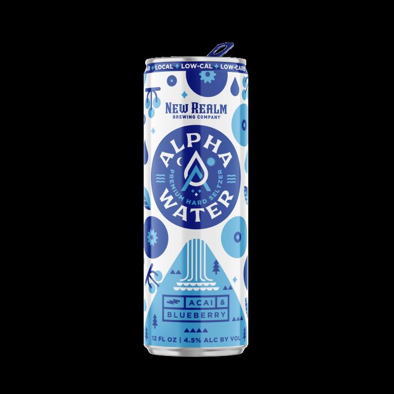 Blueberry Acai AlphaWater Hard Seltzer