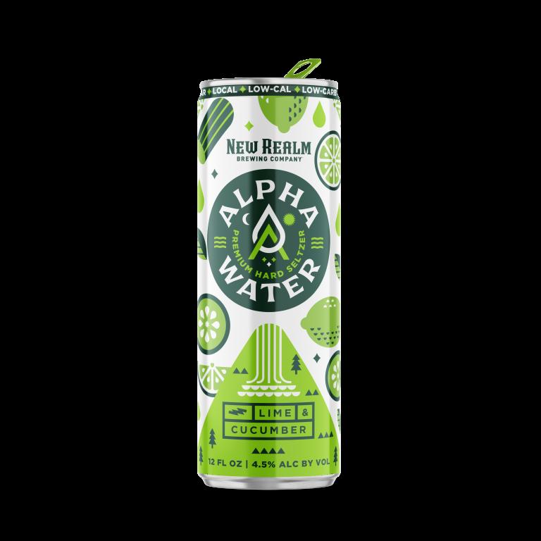 Lime Cucumber AlphaWater Hard Seltzer