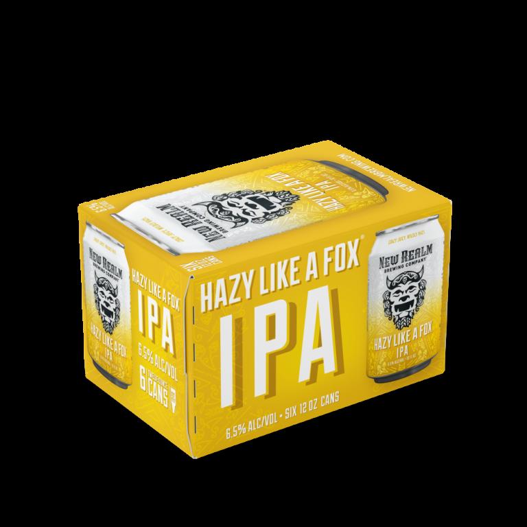 Hazy Like a Fox IPA 6-pack