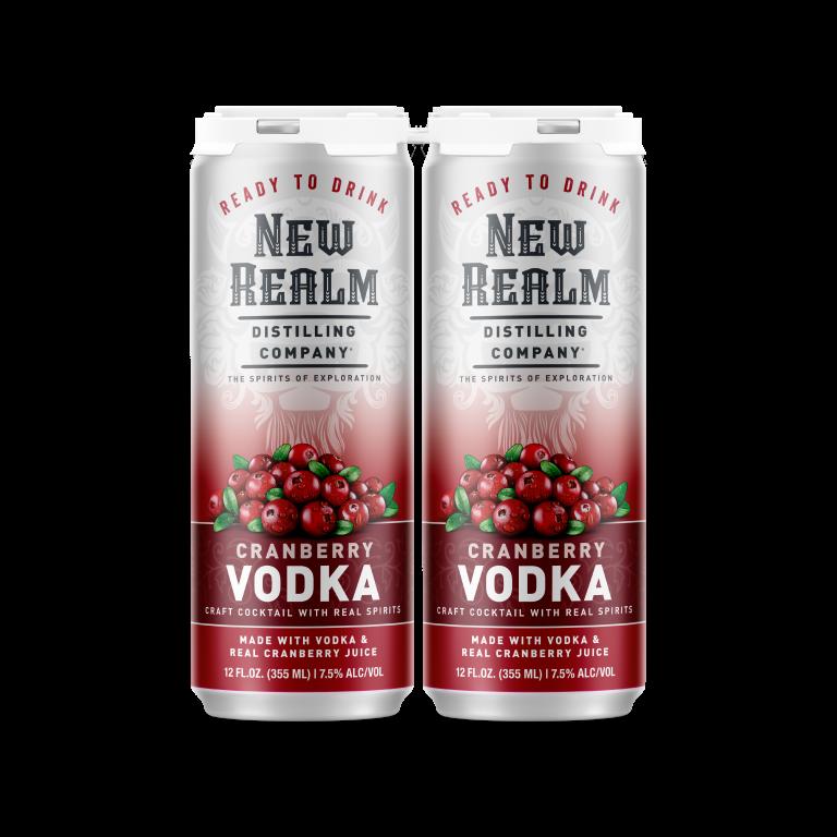 Canned Cocktails: Cranberry Vodka