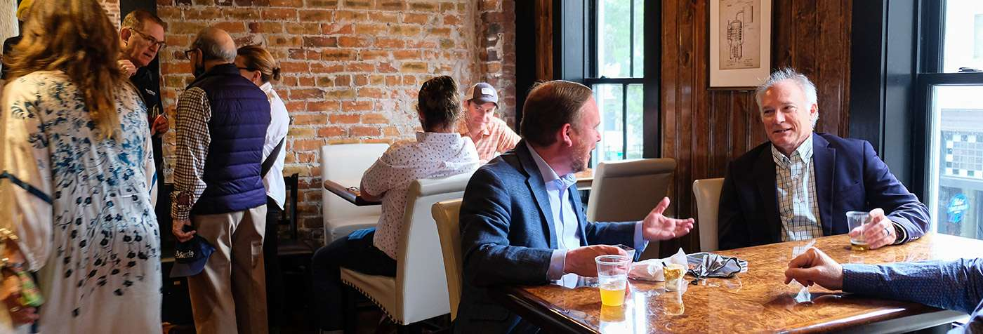 Gather together at New Realm Brewing in Savannah