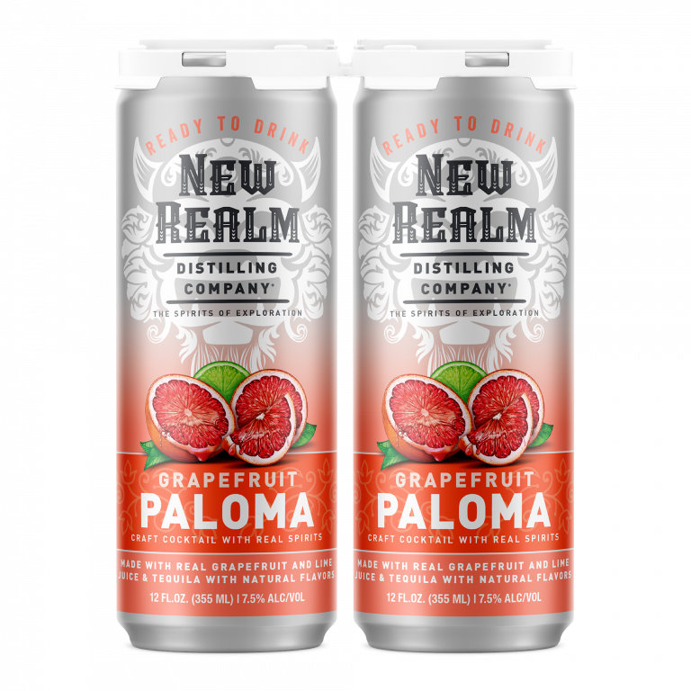 Canned Cocktails: Grapefruit Paloma