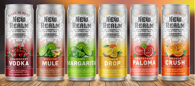 New Realm Brewing Ready to Drink Cocktails in a Can