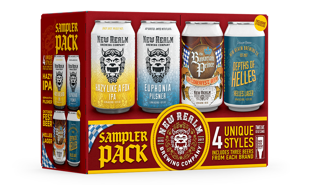 New Realm Brewing Releases German-inspired Sampler Pack Just in Time for Oktoberfest