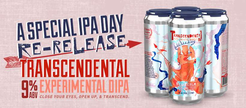 Be Prepared to Transcend with New Realm's Transcendental Experimental DIPA